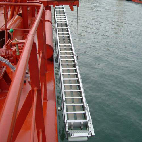 Designing boarding ladders and a bridge for NB 325 and NB 326 for Brodotrogir Shipyard, Croatia