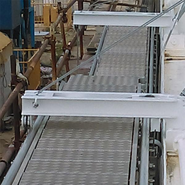 Designing boarding ladders and a bridge for NB 483 for Brodotrogir Shipyard, Croatia