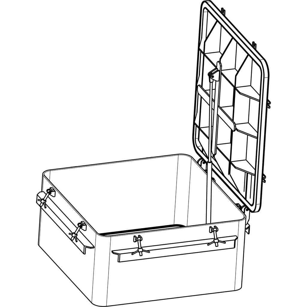 Designing hydraulic hatch MC002 for Ocean Group, Taiwan